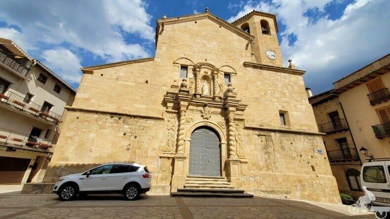 iglesia de San bartolomé de Beceite