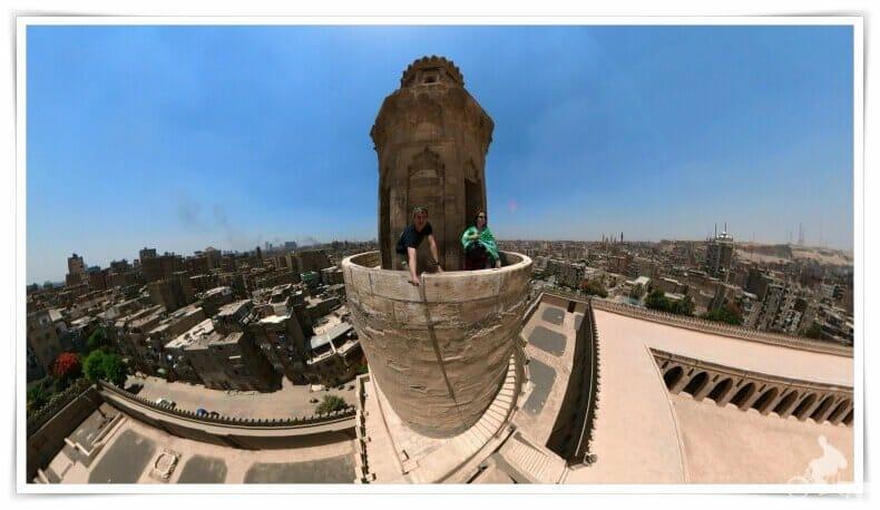 vistas minarete caracol escaleras
