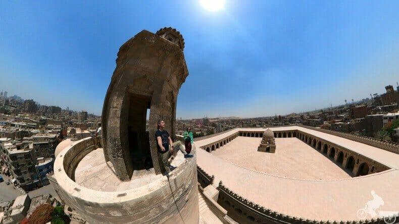 mezquita de ibn tulun desde el minarete