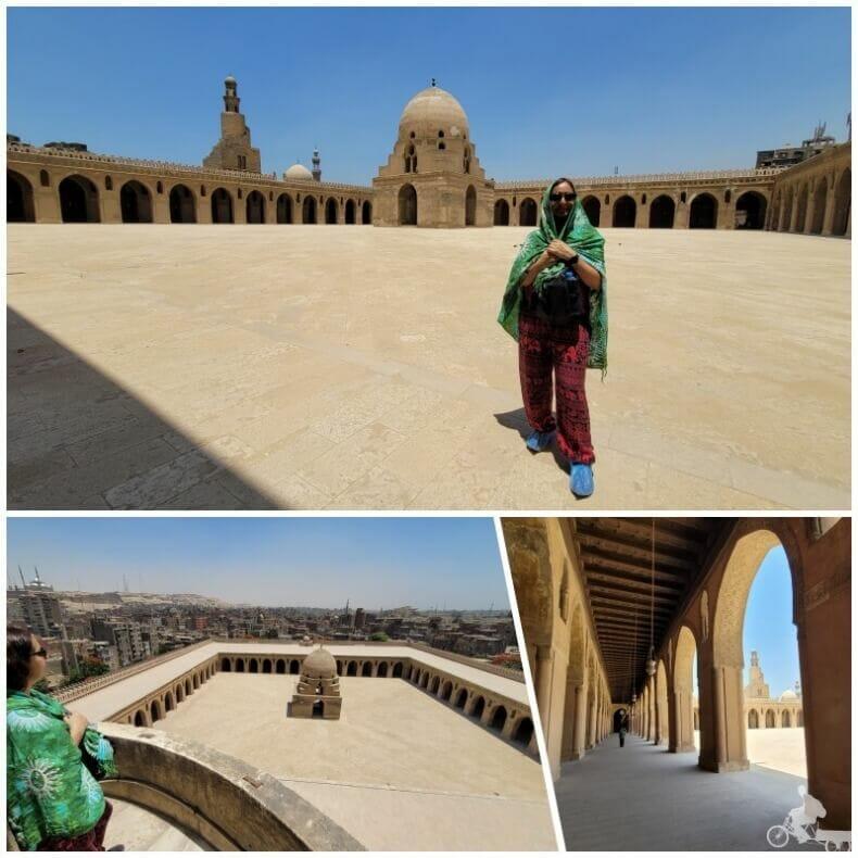patio de la mezquita ibn tulun