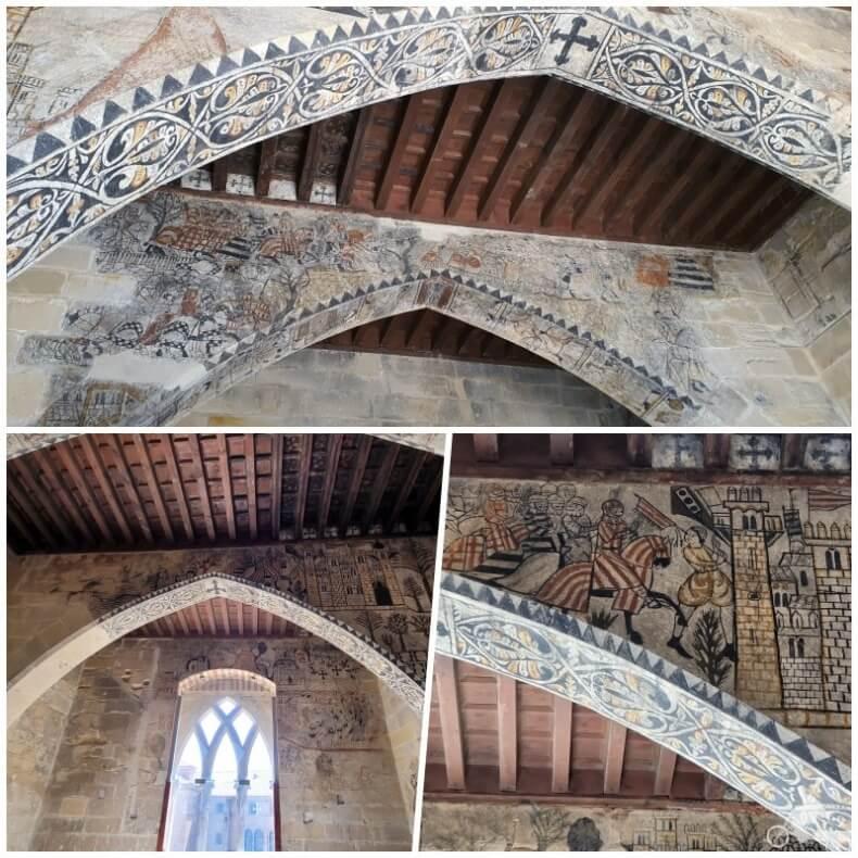 pinturas del castillo de Alcañiz