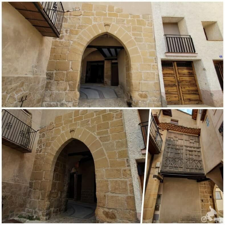 portal de San Gregorio que ver en beceite