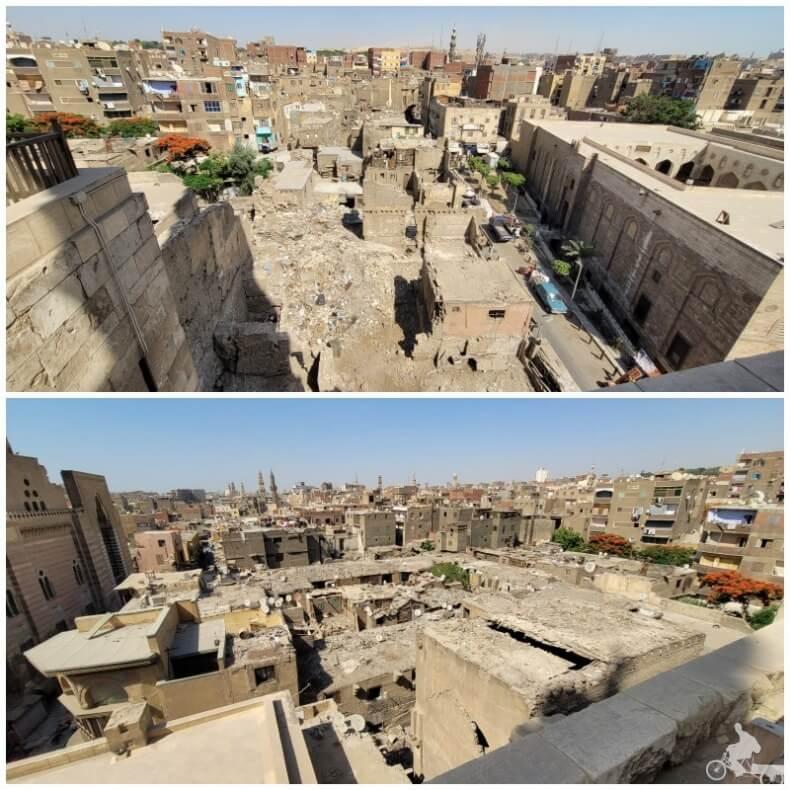casas en ruinas de El Cairo