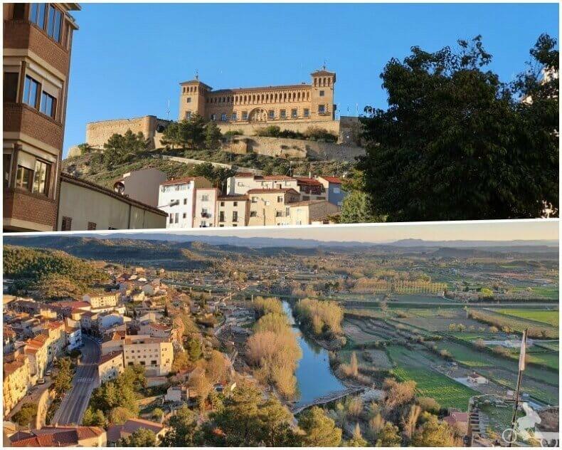 vistas parador de Alcañiz