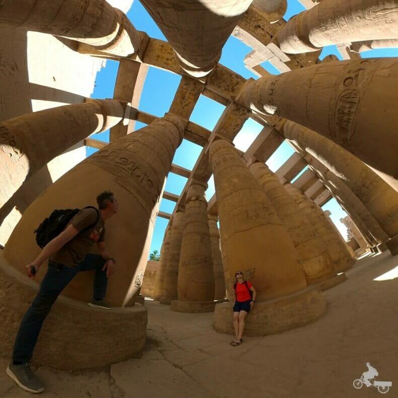 bosque de columnas de Karnak