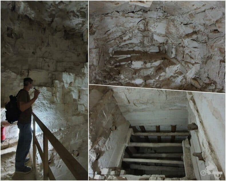 cámara funeraria de faraón de Dashur