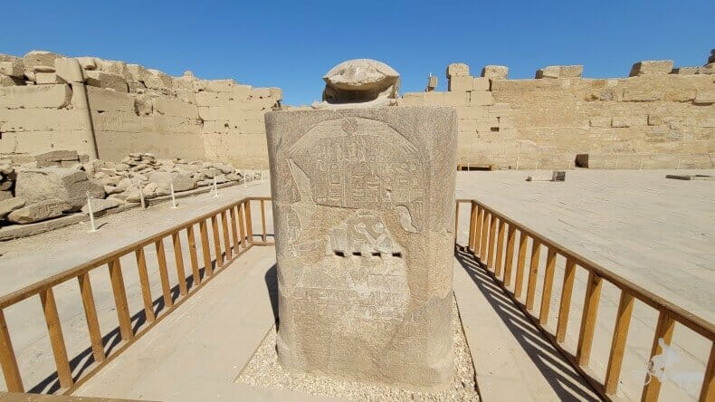 gran escarabajo de Karnak