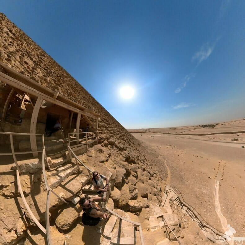 lado Pirámide Roja en Dashur