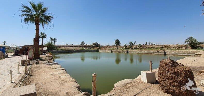 lago sagrado de Egipto