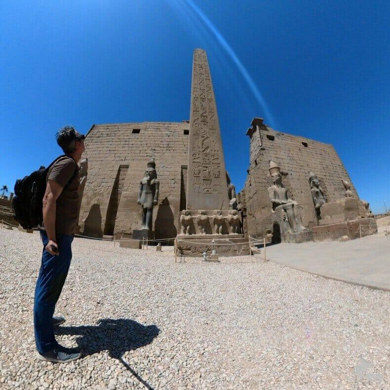 obelisco del templo de Luxor