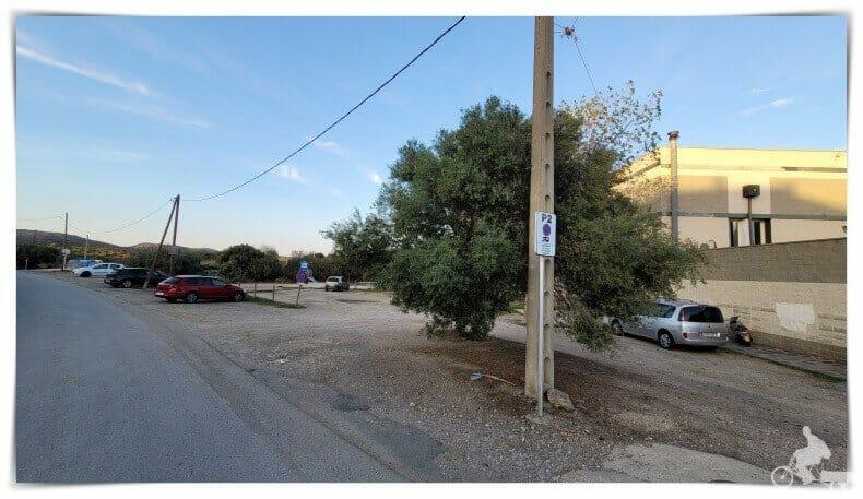 parking 2 de Cadaqués