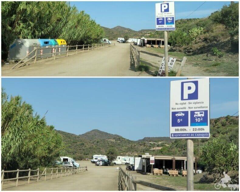 parking de PORT LLIGAT