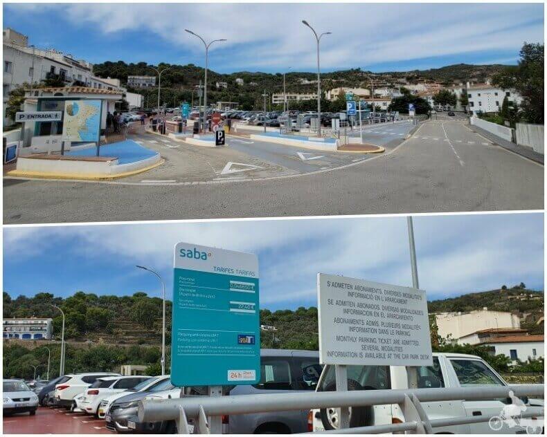 parking SABA de Cadaqués