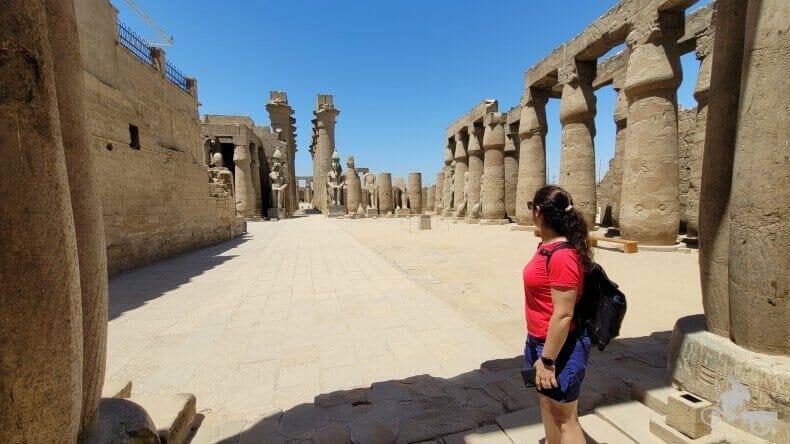 patio solar de Ramses II