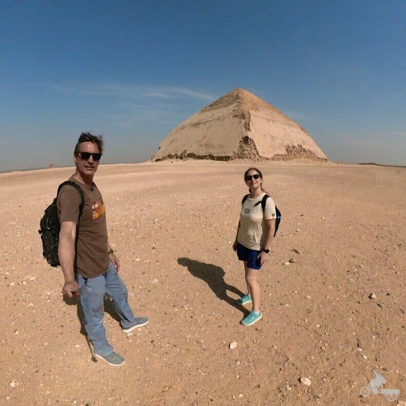 exterior de la pirámide Combada