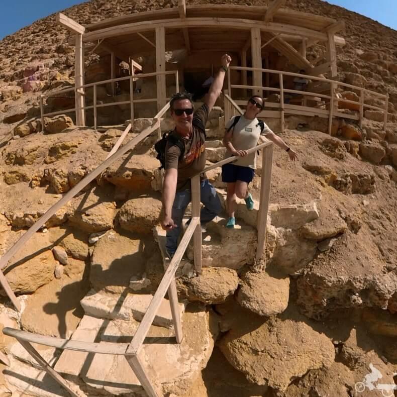 entrada a tumba de Egipto