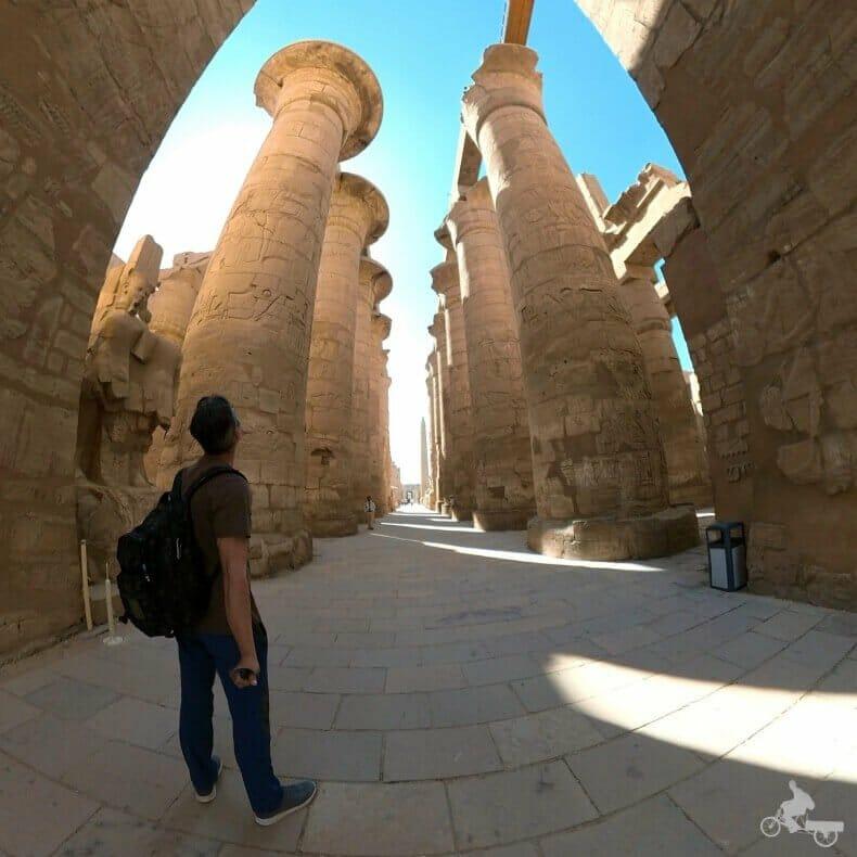 sala hipóstila que ver en Karnak