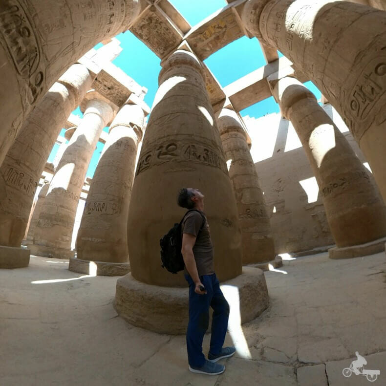 Sala hipóstila de Karnak de Ramses II