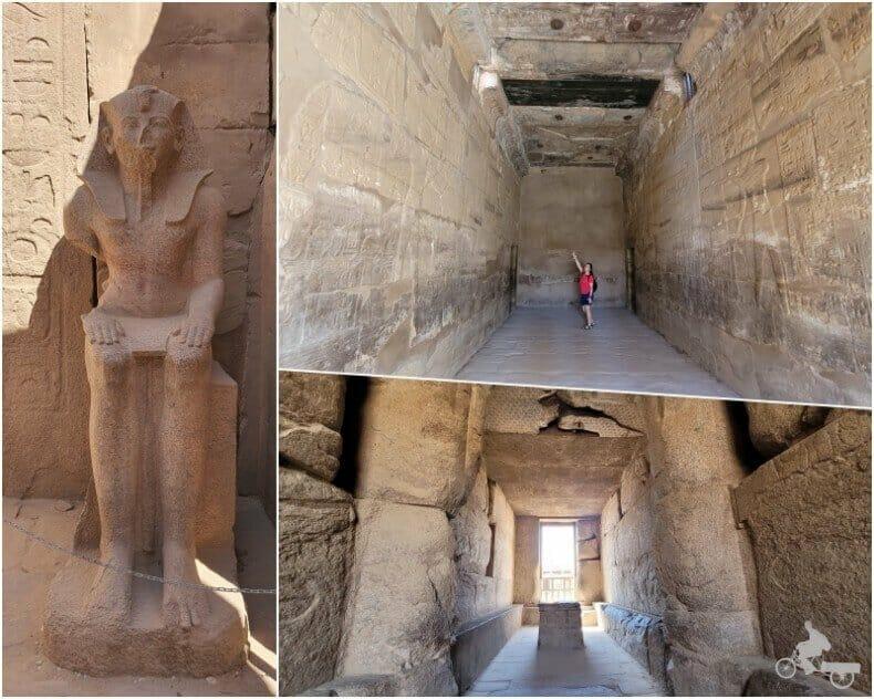 santuario del templo de Karnak