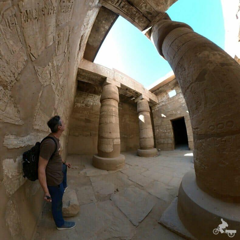 pilono 4 del templo de Karnak