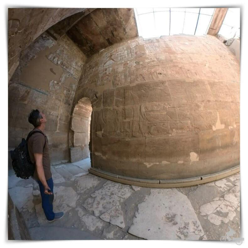 sala hipóstila del templo de Luxor