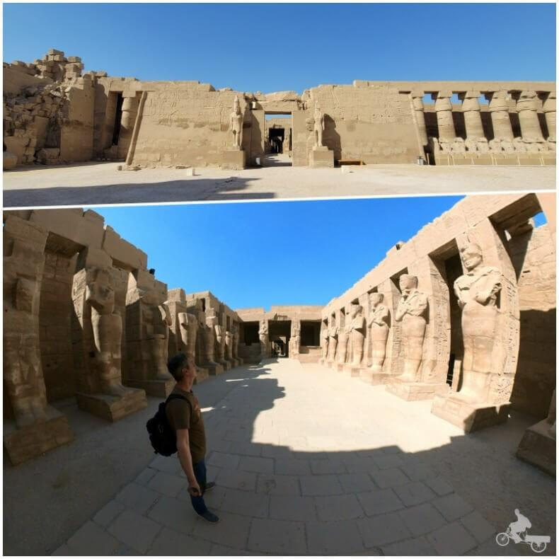 templo Ramsés III en Karnak