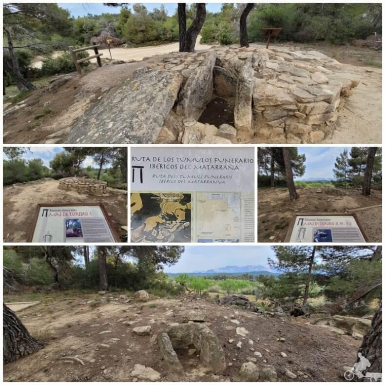 túmulos Matarraña íberos
