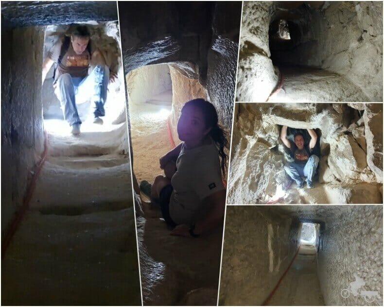 tunel o pasillo de la pirámide Acodada