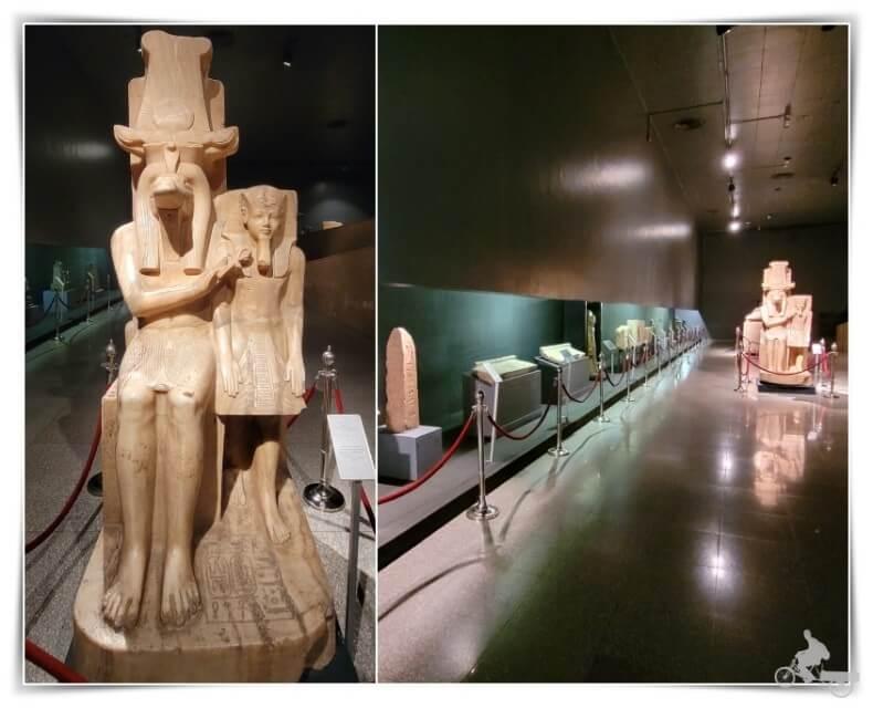 dios Sobek y el rey Amenhotep III