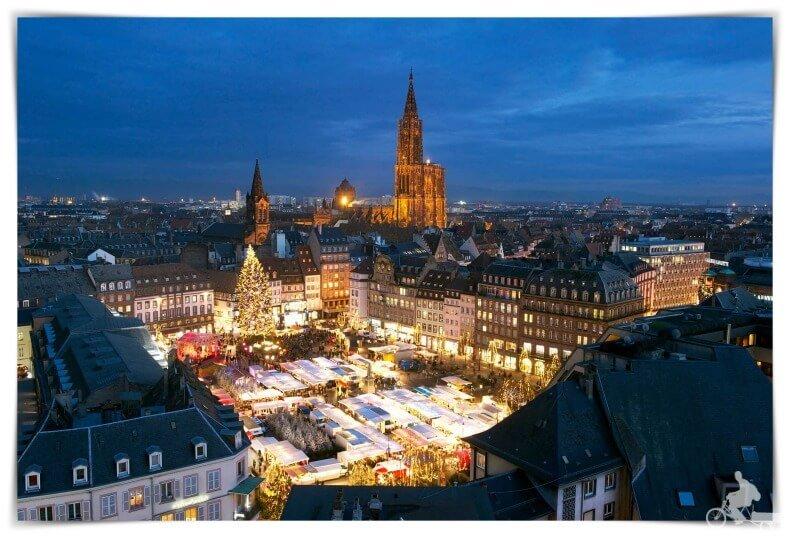 mejores free tours de navidad en Estrasburgo