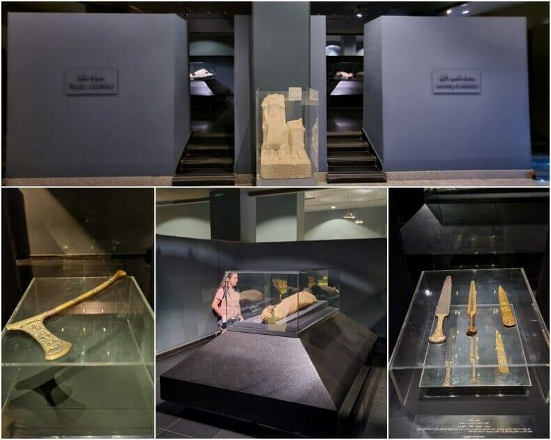 momias reales del museo de Luxor