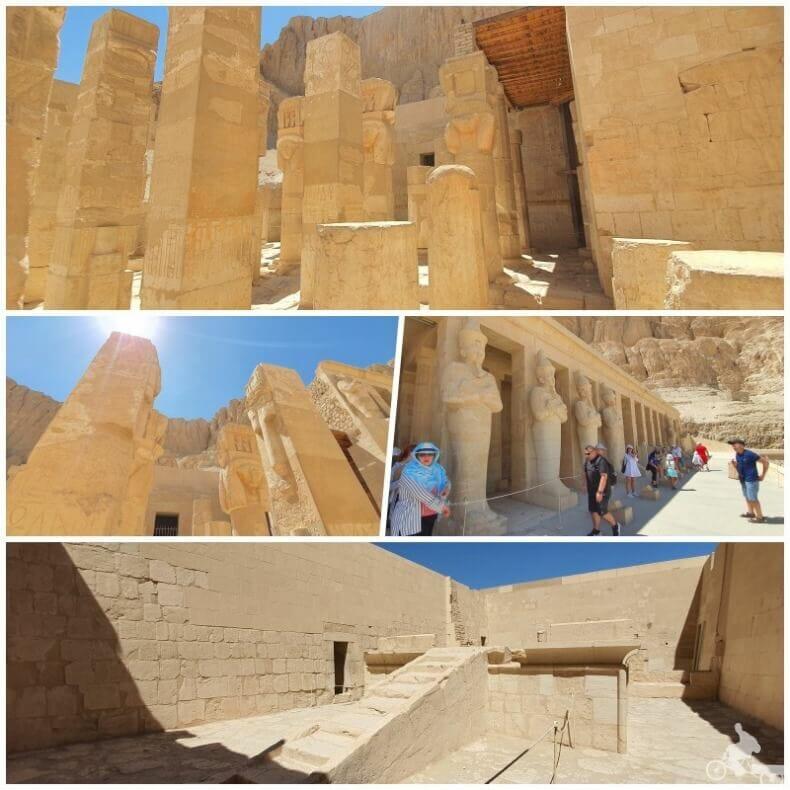 templo de Hatshepsut salas