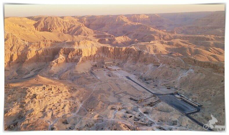 templo hatshepsut foto aerea