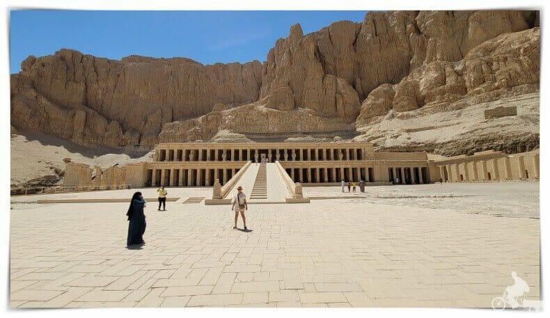 templo de Hatshepsut segunda terraza