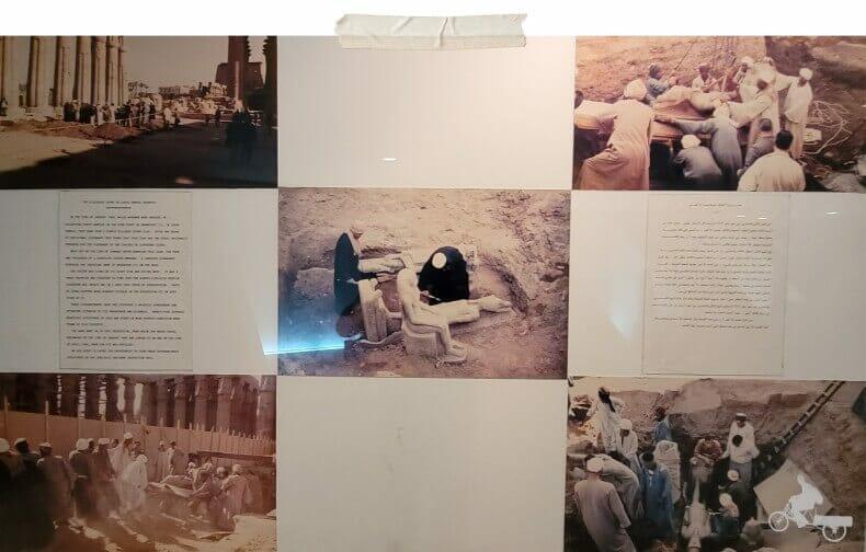 tesoros del templo de Luxor